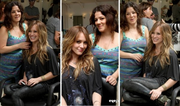 Posing at Byron & Tracey Salon ---{29/08/2010}---