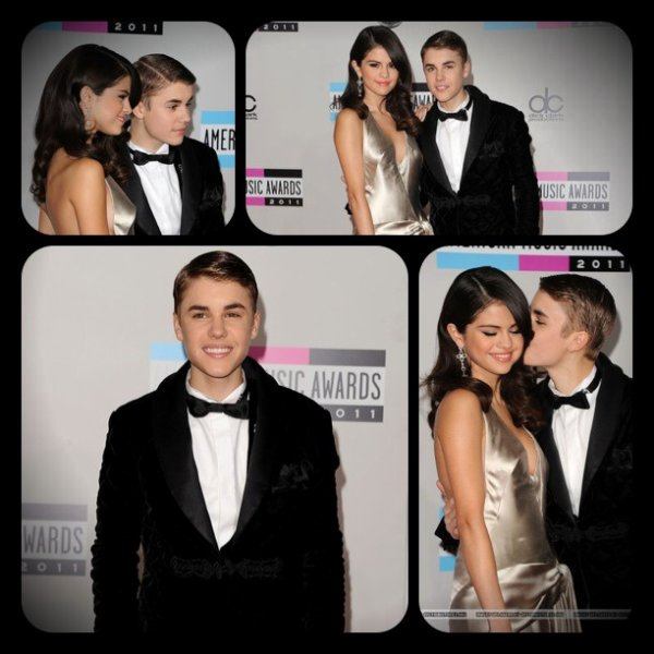 Justin & Selena au American Music Awards