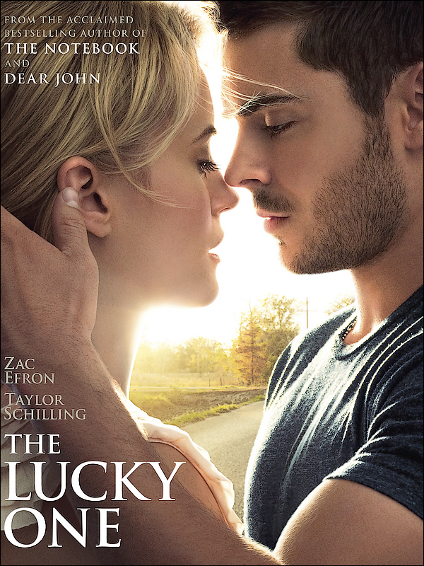 POSTER DU FILM « THE LUCKY ONE »  !  Il a l'air ton Bien !!