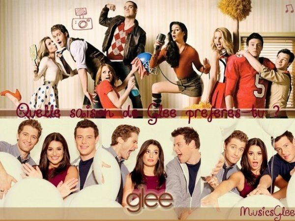 Les episodes de la Saison 1&2 de Glee ! ♥