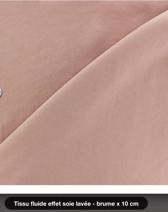 Modes et Travaux de Décembre 2016, le tissu sera disponible
