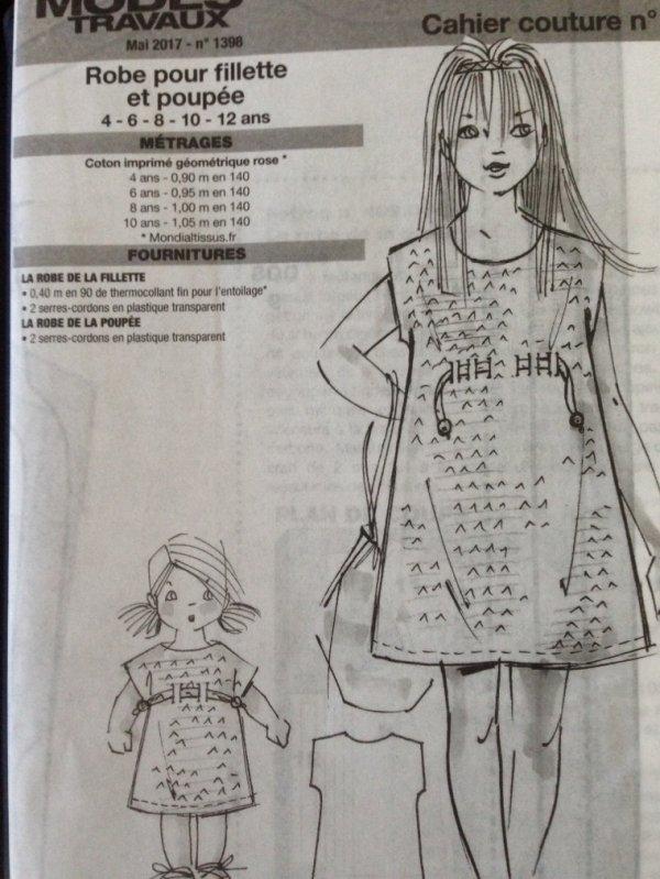 M&T mai 2017 - Une jolie robe Kimono pour Emilie
