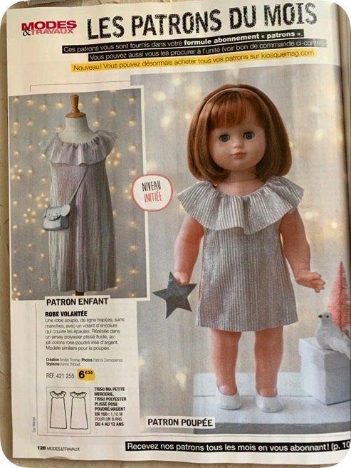Une magnifique robe pour les fêtes de Noel 2020