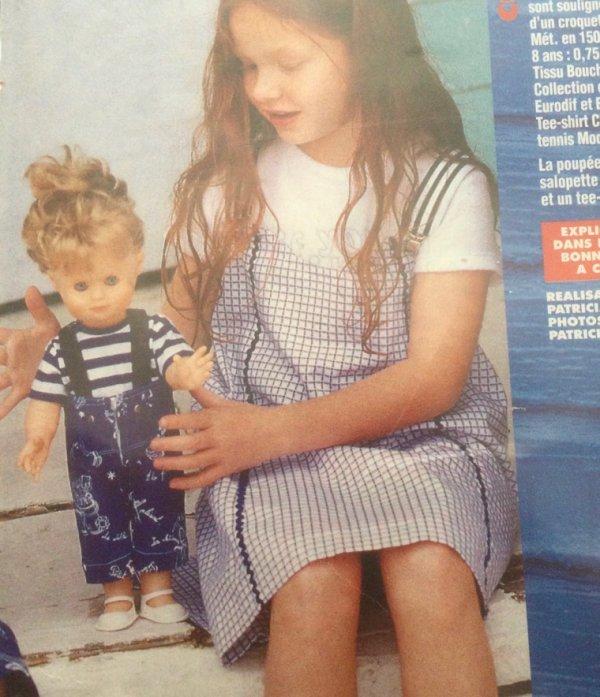 M&T Avril 1997- Emilie à Marennes va à la pêche aux moules…non à la crevette.
