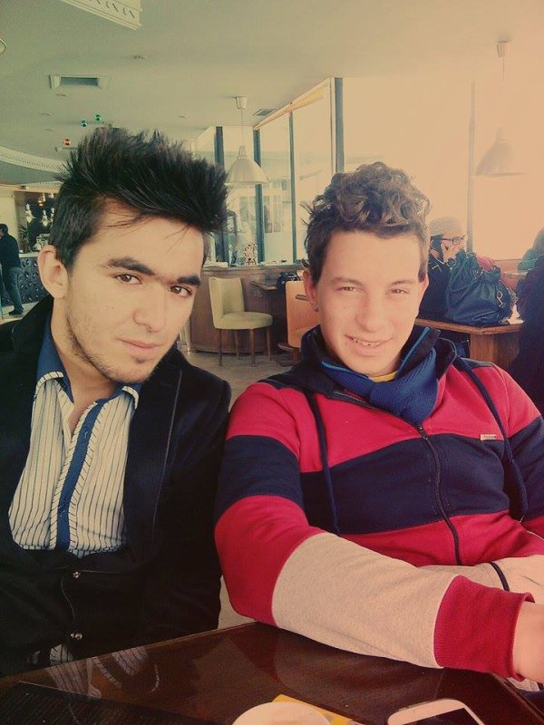avec mon ami