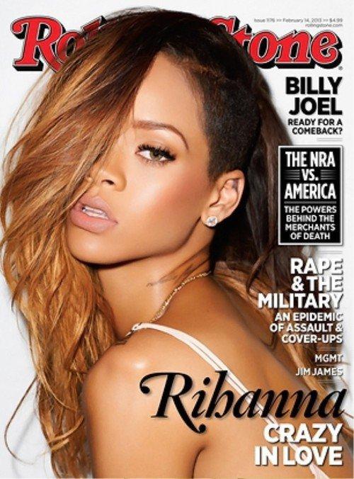 Rihanna en couverture du magasine 'Rolling Stone'