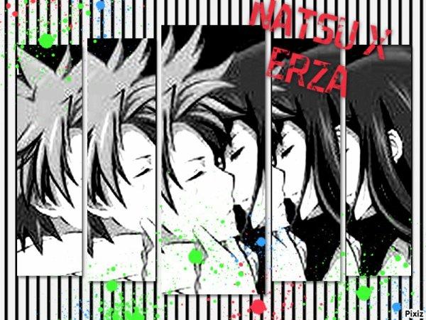 montage sur Natsu x Erza