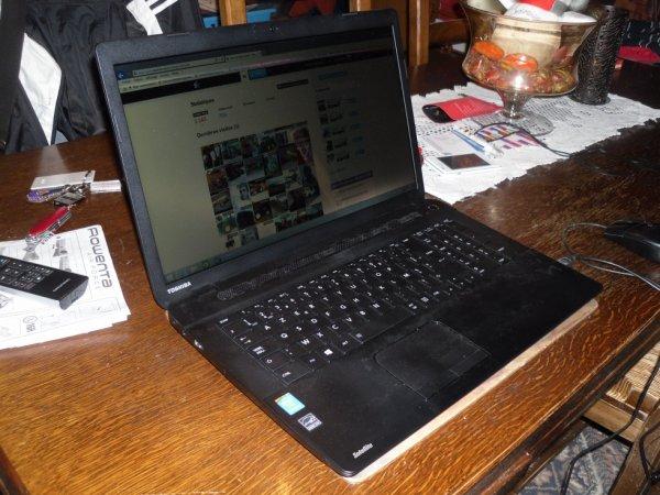 Nouvelle ordinateur Toshiba
