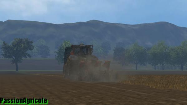 Labour avec un New Holland t6 160 + brabant kuhn varimaster 153
