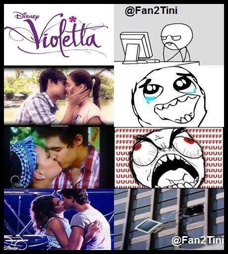 Voilà de se que je pense quand je regarde la série Violetta