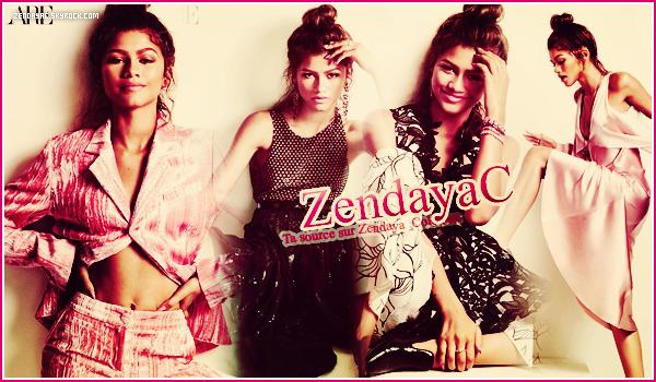 Bienvenue sur Zendayac, ta source dédiée à la splendide - Zendaya! Suis chaque jour toute l'actualité de la belle Zendaya grâce à de nombreux articles : tel que ses candids, photoshoots, évènements...