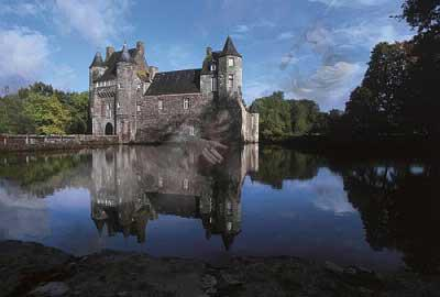 BROCELIANDE CHATEAU DE TRECESSON