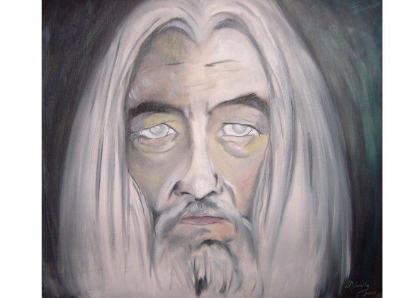 MERLIN  peint par Djamila une amie de Rennes