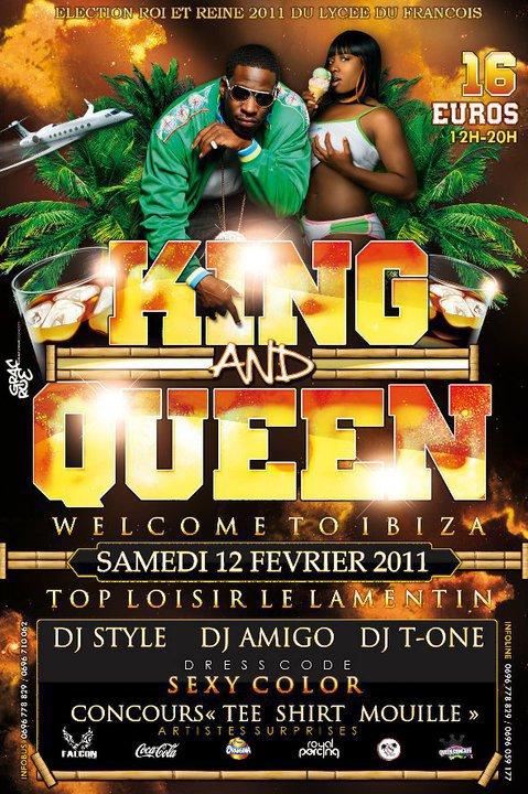 Election Lycée du FRANÇOIS... Samedi 12 FÉVRIER 2011 ! TOP loisir ... DJ Style, Dj Amigo & Dj T.one ! Flyer ici ;)