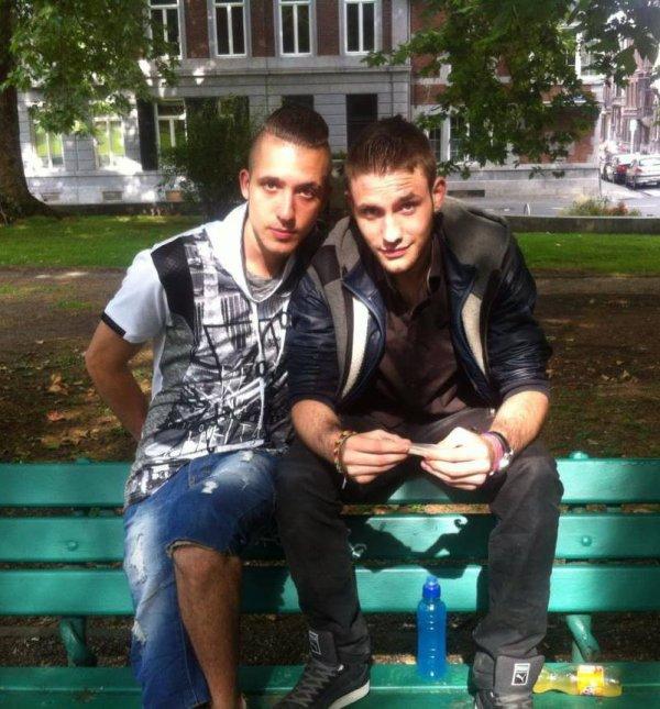 mon frère et toi ;)