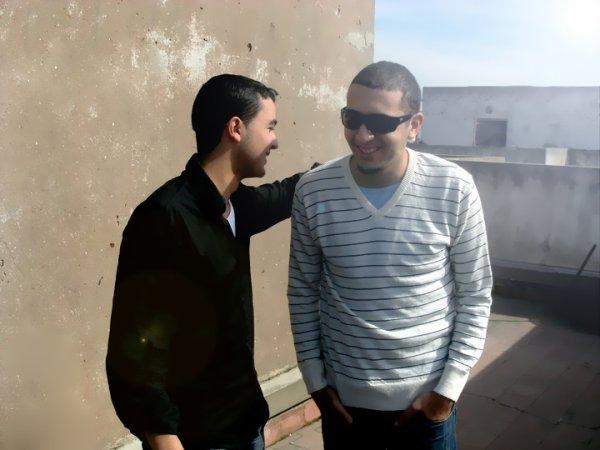 sur le plateaux de tournage SERIONE avec wadii