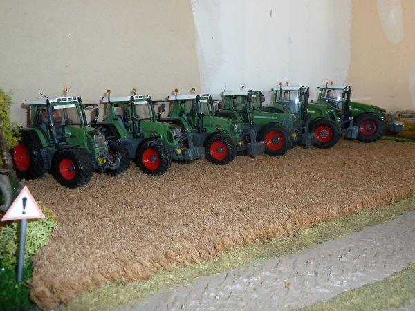 les 6 tracteurs de l' ETA Ducoin