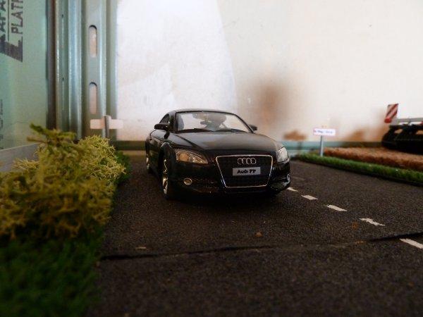 Arrivée de l'Audi TT