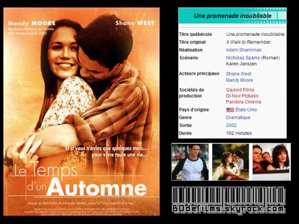 → Film n°1 ; Le temps d'un autonme .  Vous en pensez quoi vous ?