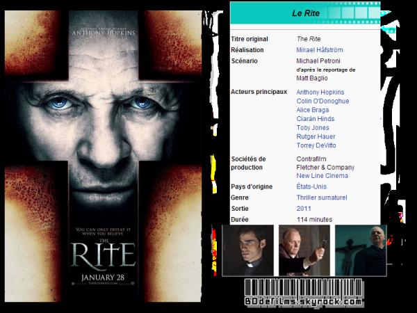 → Film n°3 ; Le Rite .