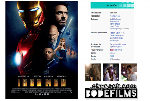→ Film n°11 : Iron Man