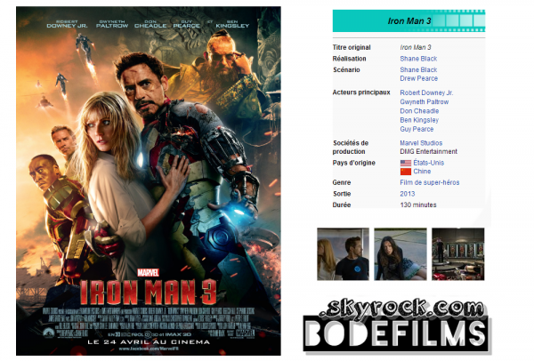 → Film n°13 : Iron Man 3