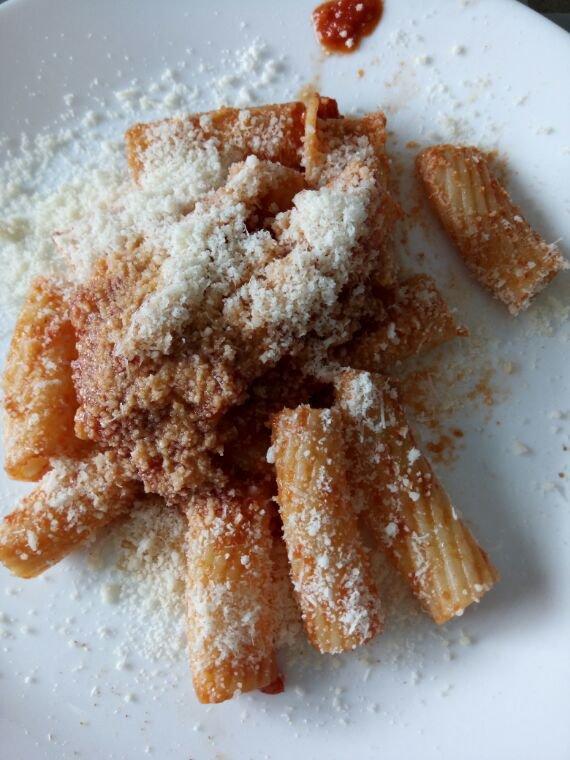 Je mange a l italienne