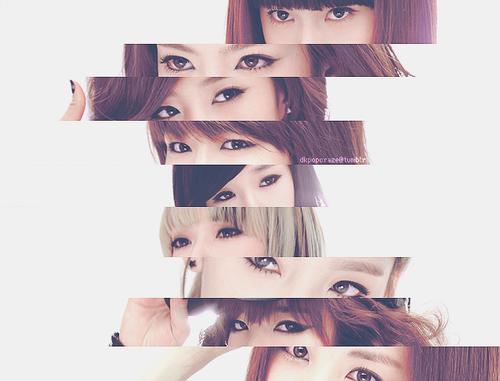 des yeux attirantes