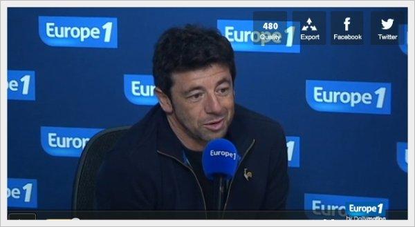 Patrick Bruel : sur europe1