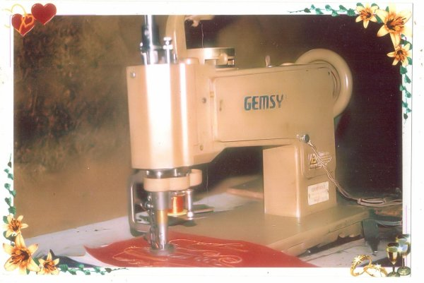 GEMSY  CORNELY EMBROIDRY MACHINE.