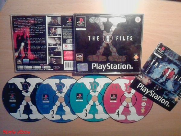 Mon jeu de PlayStation 1 (X-FILES).