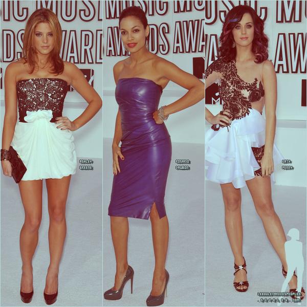 Voyons voir un peu les tenues chez les filles des MTV Video Music Awards 2010. Elles sont toutes (ou presque) sublime. Mais laquelle dépasse toute vos éspérances. Laquelle rêvez-vous  un jour de lui ressembler ?