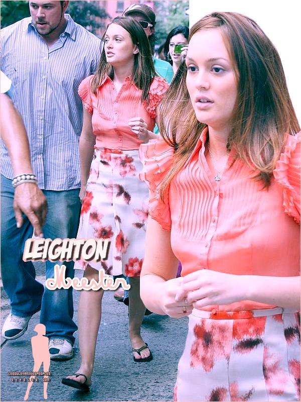 Bon ... Le look Leighton rétro année 70 remake 2010. On adère ou on adère pas ? Faux choisir !