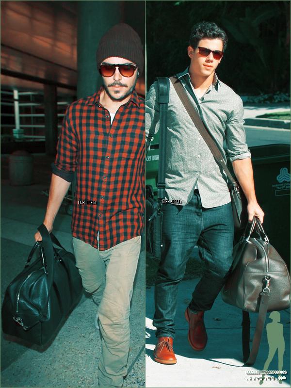 Trouve le point commun entre Zac Efron & Nick Jonas :) INDICE