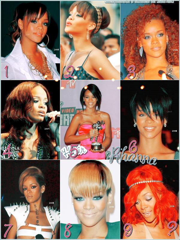 Le blog s'affilie avec LeMonde-People ! En attendant choisis la plus belle coiffure de Rihanna : )