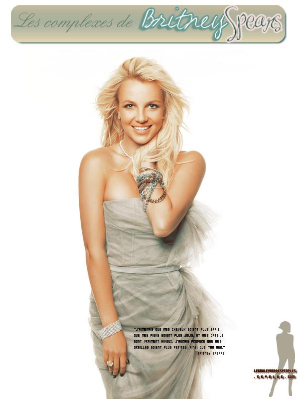 Les complexes des stars vu par Britney Spears