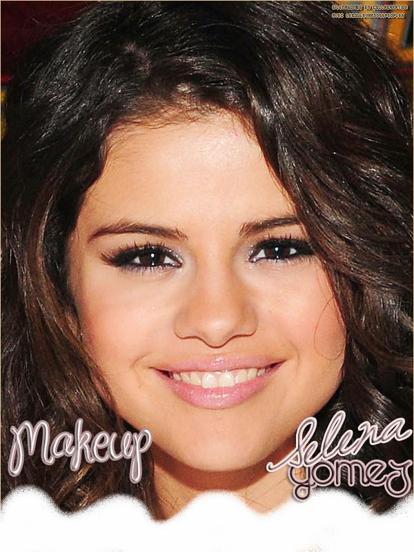 LeBoulevardDesPeoples en collaboration avec SilenaGomez en créant sa rubrique Beauté /  Makeup sur Selena Gomez