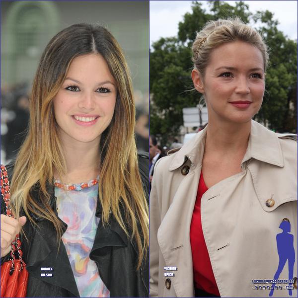 Nos petites Fashionnista chéries étaient présente à l'évenement de la Fashion Week à Paris. Je vous propose d'amirer (ou pas) certain clichés de nos stars favorites ! (ou pas) m'enfin bref! Dites moi celle que vous préférez ?