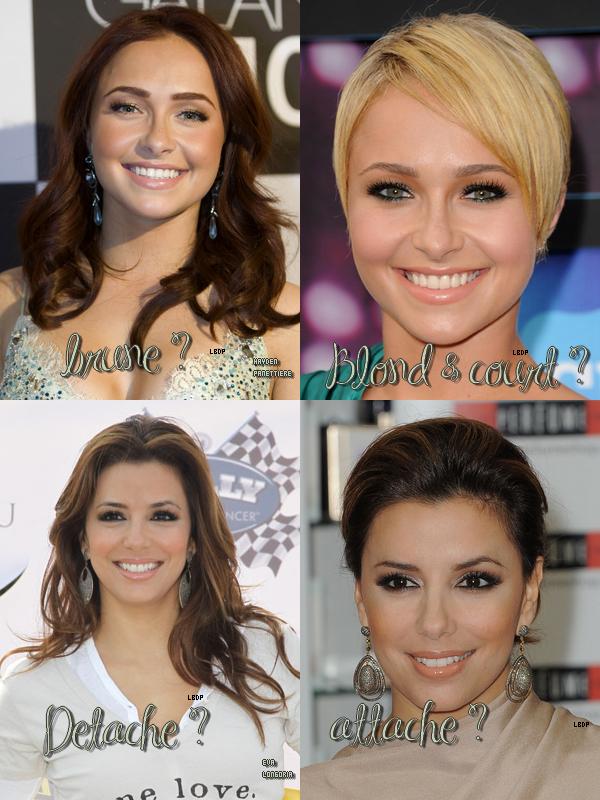 Les Stars raffolent du changement avec leurs cheveux, et elle nous le montre, donne ton avis ! Une suite prochainement :)