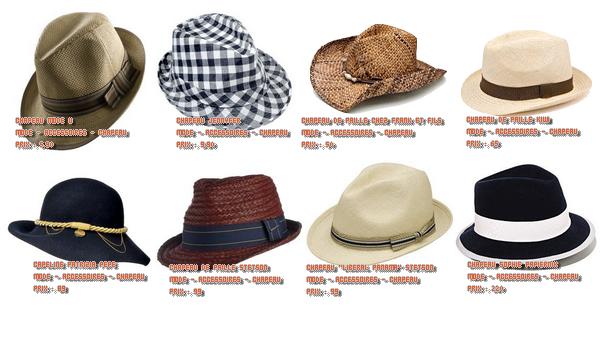 Les chapeaux sont à l'honeurs cette année. Elles nous le montrent bien !