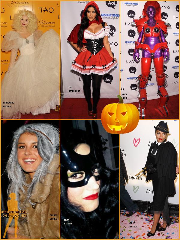 Qui a le meilleur déguisement d'Halloween ?