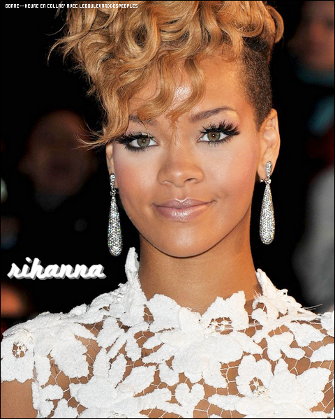 Zoom make-up de Rihanna. (2010) Article en collab' avec b0nne--heure