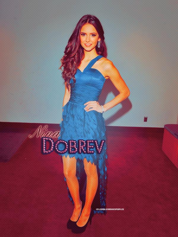 Nina Dobrev était présente aux Gemini Awards Gala - 13 Novembre