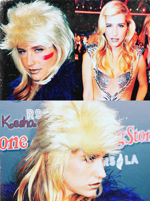 Ke$ha était présente à l'inauguration du restaurant Rolling Stone & Lounge à l'édition 2010 des American Music Awards VIP after-party à Los Angeles le dimanche soir 21 Nov'