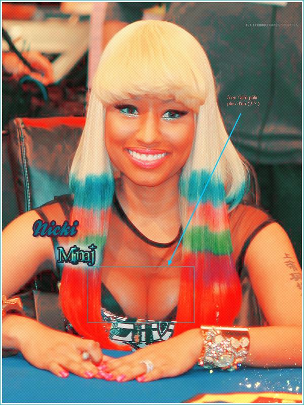 Nicki Minaj: Y a du monde au balcon !