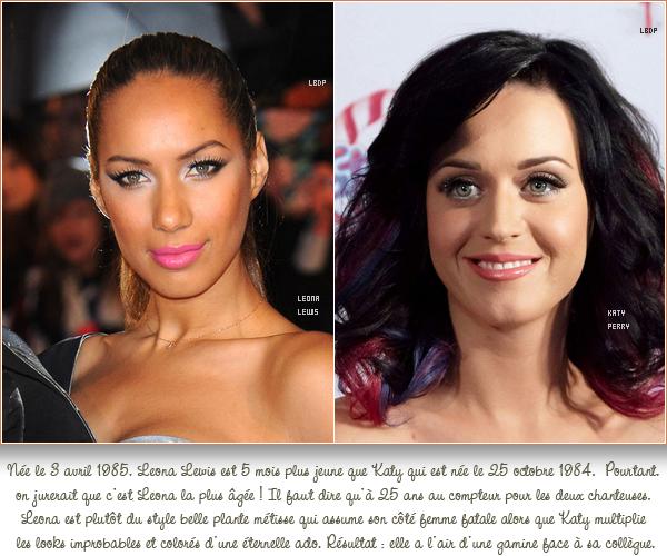 Elles ont le même age et pourtant ...   (archive)