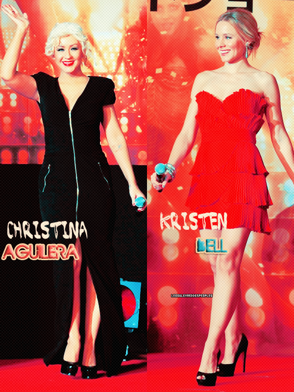 Christina Aguilera VS Kristen BellLaquelle préférez - vous ??
