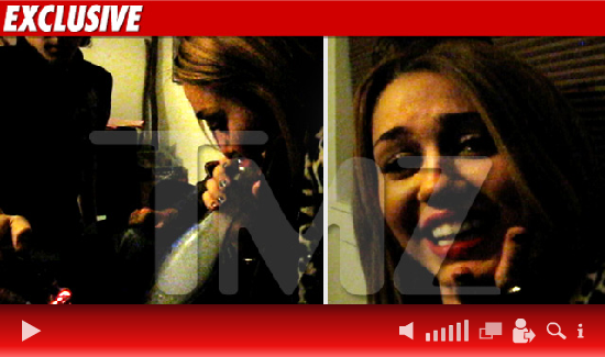 Miley Cyrus se drogue !