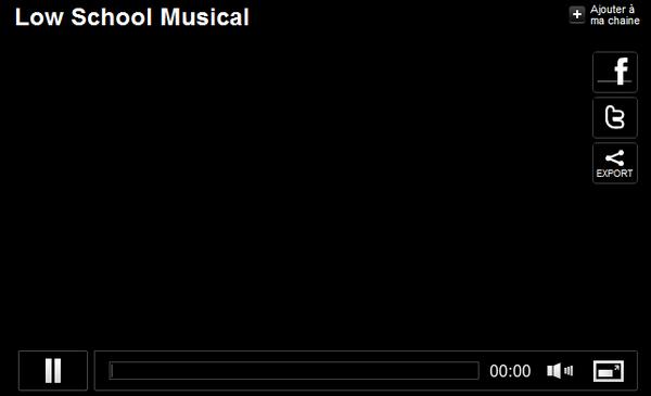 Jamel Debbouze et Florence Foresti dans une parodie de High School Musical ! Vos impressions ?