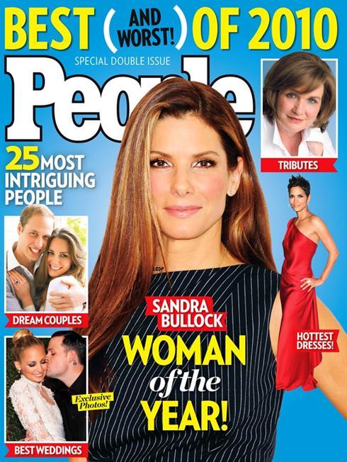 """Sandra Bullock est élue """"femme de l'année"""" !"""